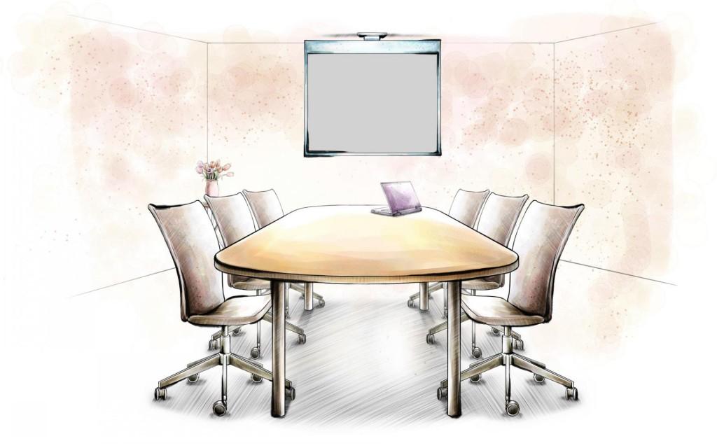 创意室内设计手绘图软装室内设计图设计师