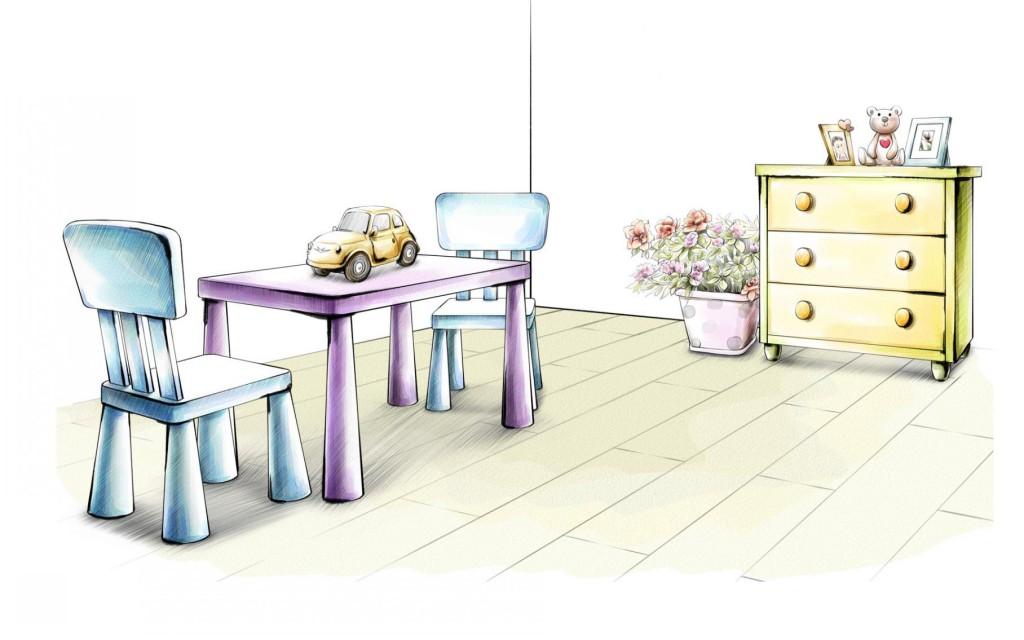 天元莎莎-創意室內設計手繪圖軟裝室內設計圖設計師