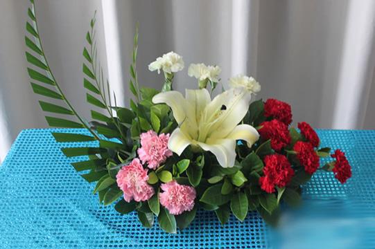 学插花—花束包装